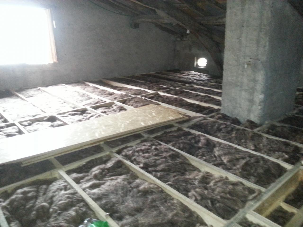 Isolation de combles et isolation des murs par l 39 ext rieur for Isolation des murs exterieurs